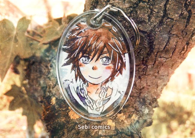 Sora Kingdom hearts Sebi comics