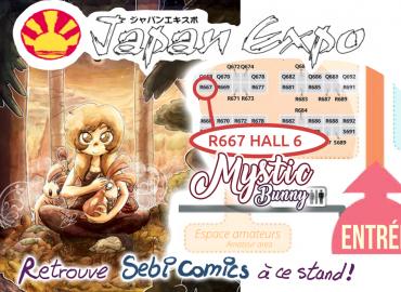 stand japan expo sebi comics