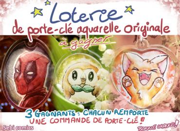 sebi_comics loterie porte clef