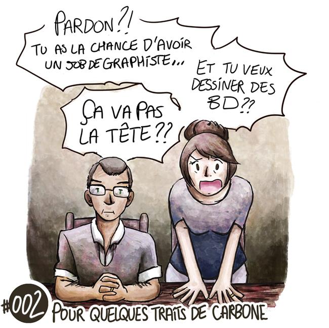 Trouve-toi un vrai travail Sebi Comis Sebi Comics Thomas Cyrix Comic Webcomic français Bande dessiné BD Passion Réalité