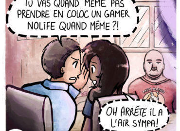 Trouve-toi un vrai travail Sebi Comis Sebi Comics Thomas Cyrix Comic Webcomic français Bande dessiné BD Junior Colocation