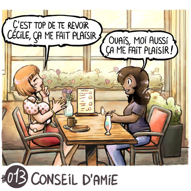 Trouve-toi un vrai travail Sebi Comis Sebi Comics Thomas Cyrix Comic Webcomic français Bande dessiné BD Conseil d'amie Travail
