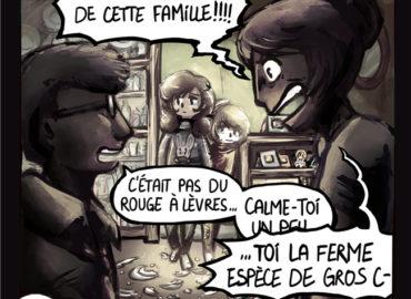 Trouve-toi un vrai travail Sebi Comis Sebi Comics Thomas Cyrix Comic Webcomic français Bande dessiné BD Dispute Résolution